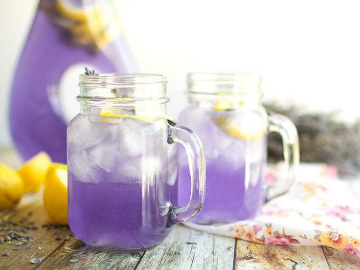 lavender-infused recipes