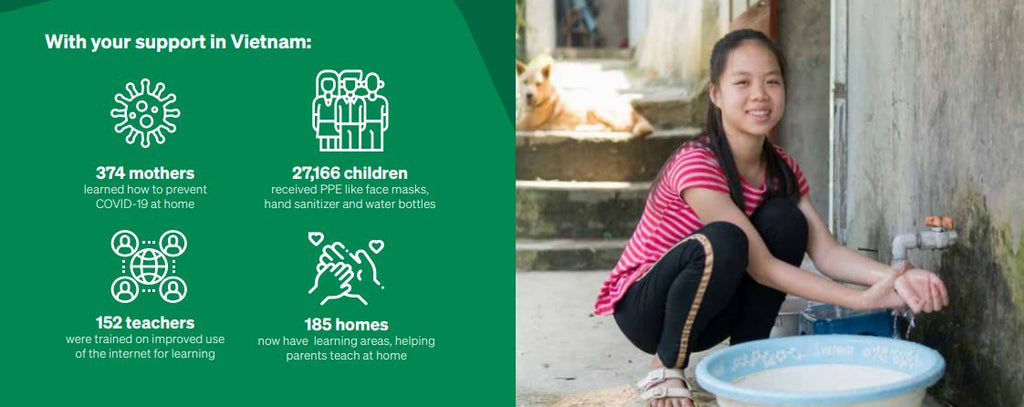 How ChildFund responds to COVID-19 in vietnam