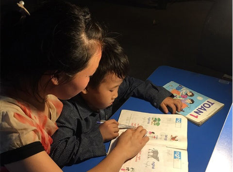 Helping children to keep learning while home from COVID-19.
