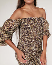 Load image into Gallery viewer, The Ariel Dress - Leopard Print