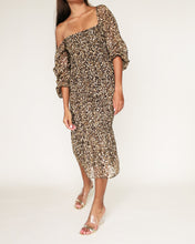 Load image into Gallery viewer, The Ariel Dress in Leopard Print