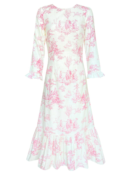 The Rosa Dress in White