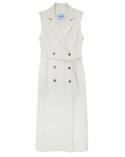 將圖片載入圖庫檢視器 The Alex Sleeveless Trench Dress - Ivory