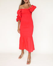 Load image into Gallery viewer, The Ariel Dress - OrangeRed