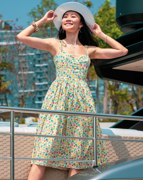 The Doris Dress in Summer Carnival