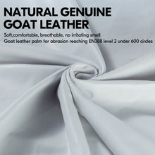 Load image into Gallery viewer, Vgo... 1 Pair/2 Pairs Premium Genuine Goat Gardening Gloves (1Pair,White,GA1013-W)