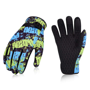 Vgo... 1/2 Pairs Age 11-14 Juniors 32℉ or Above 3M Thinsulate C40 Lined Winter Outdoor Gloves (2 Colors,SL221FW-JM)