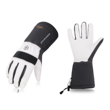 Load image into Gallery viewer, Vgo 1 Pair/2 Pairs/3 Pairs -23 ℉ or above Goatskin Leather Winter Gloves(Grey,GA8435FW)