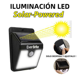 LÁMPARA PANEL SOLAR LED