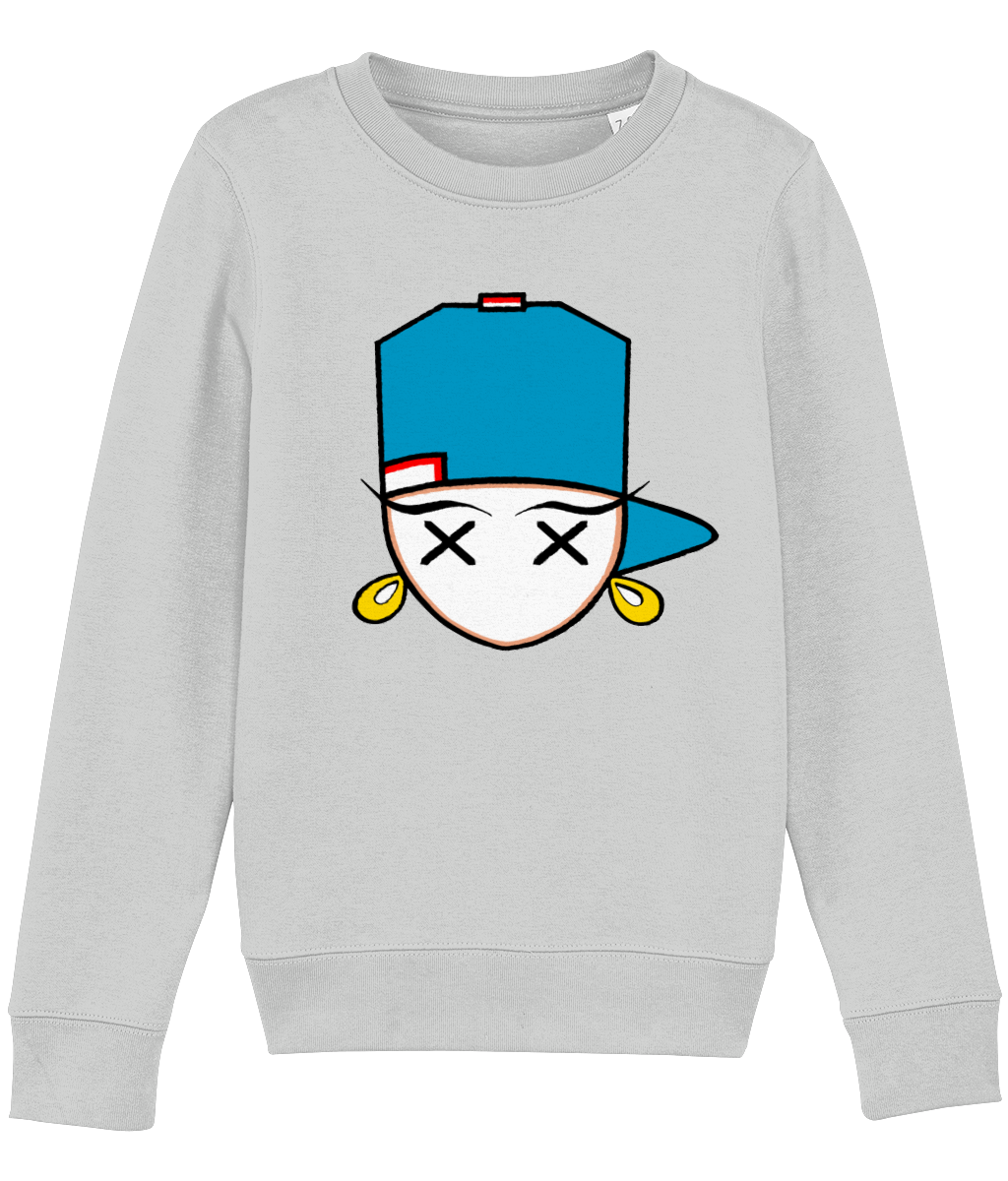 kids sweatshirt Mini Changer 14 blue girl