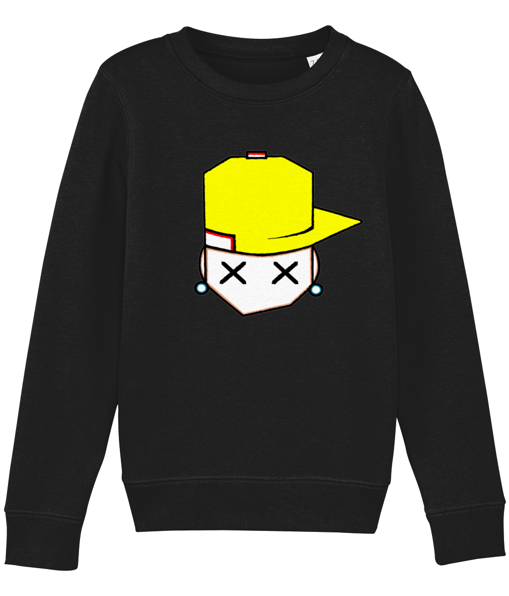 kids sweatshirt Mini Changer 13 yellow cap