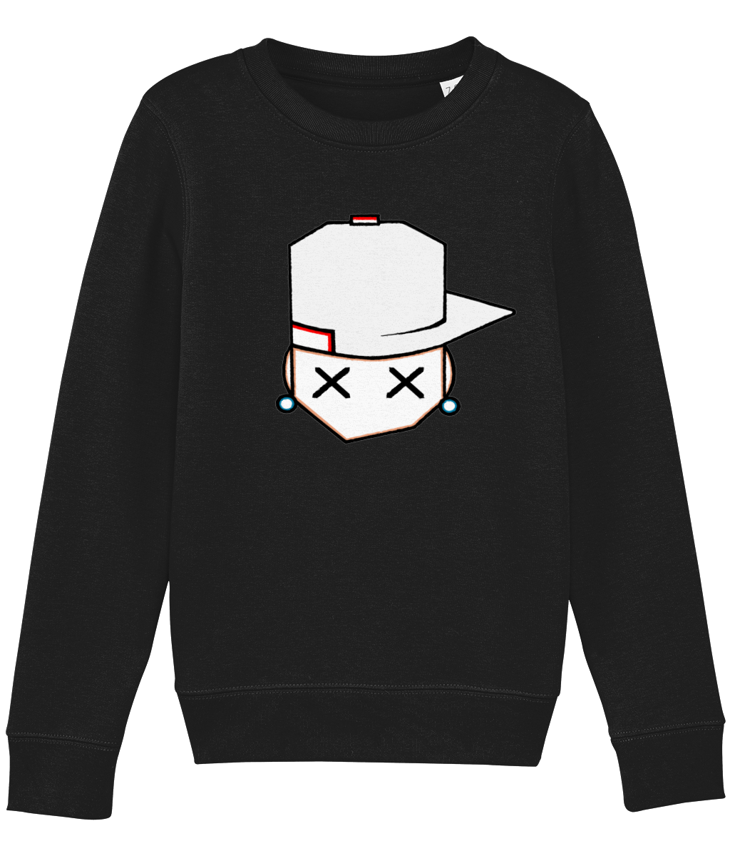 kids sweatshirt Mini Changer 07 off white cap