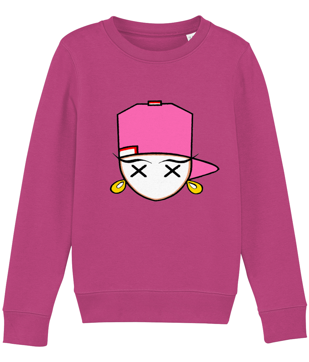 kids sweatshirt Mini Changer 18 hotpink FF69B5