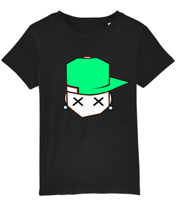 kids t'shirt Mini Creator 04 spring green cap