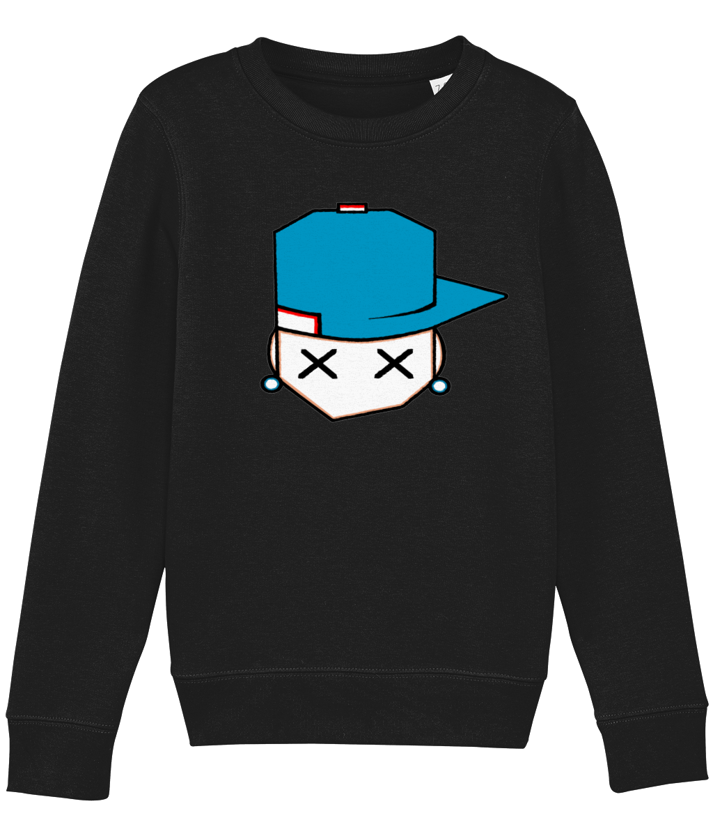 kids sweatshirt Mini Changer 02 original blue cap