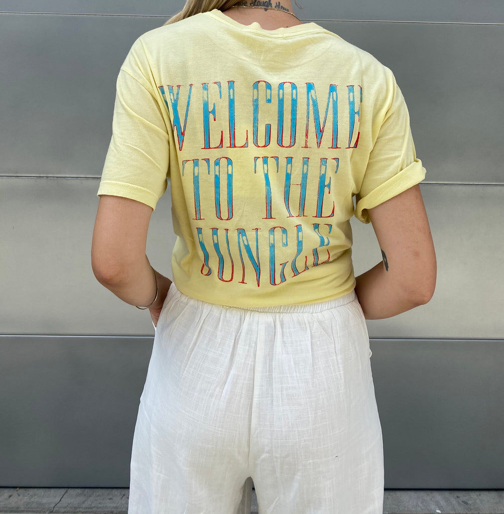 Welcome To The Jungle  Band Tee