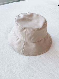 Faith Faux Leather Bucket Hat