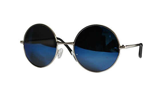 Beautiful Unisex Latest Design Hippie Style Goggles Round Sunglasses Anti-Reflective Lens