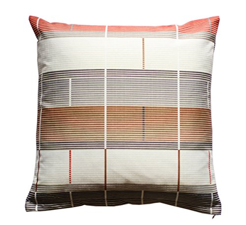 Beautiful Geometric Striped Multicolor Print 16 x 16 Cushion Covers Pillow for Sofa Bed