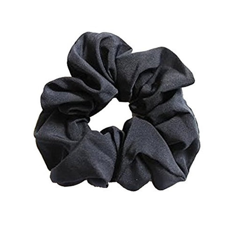 Sienna 2 Pieces Navy Blue Hair Scrunchie Elastic Bobbles Ponytail band/ponio
