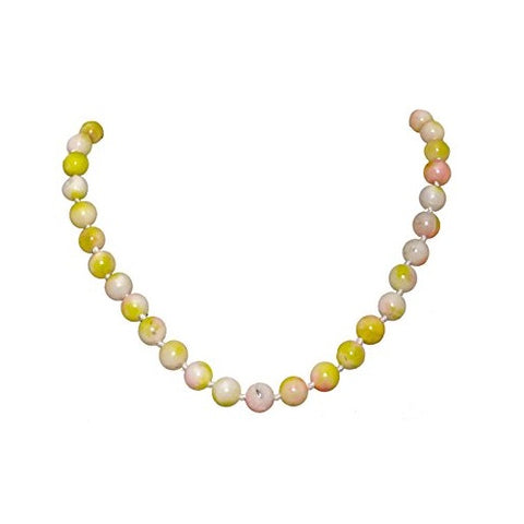 Bullahshah Agate Stone Necklace Choker for Women  with Rhodium Plated Hook & Extension Chain