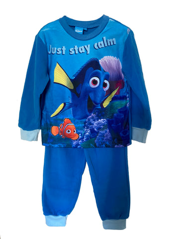 Disney‌ ‌Finding‌ ‌Dory‌ ‌Pyjama‌ ‌Set,‌ Unisex ‌Blue‌ ‌Full‌ ‌Sleeves‌ ‌Kids‌ ‌Nightwear,‌ Soft Fleece ‌Loungewear‌ ‌for‌ ‌Boys‌ and Girls
