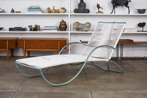 Bronze Patio Chaise Lounge by Walter Lamb for Brown Jordan
