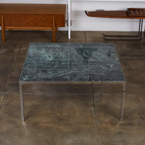 Pair of Nicos Zographos Marble Coffee Tables