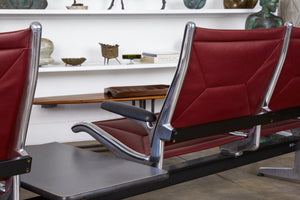 Eames for Herman Miller Seating System in Burgundy