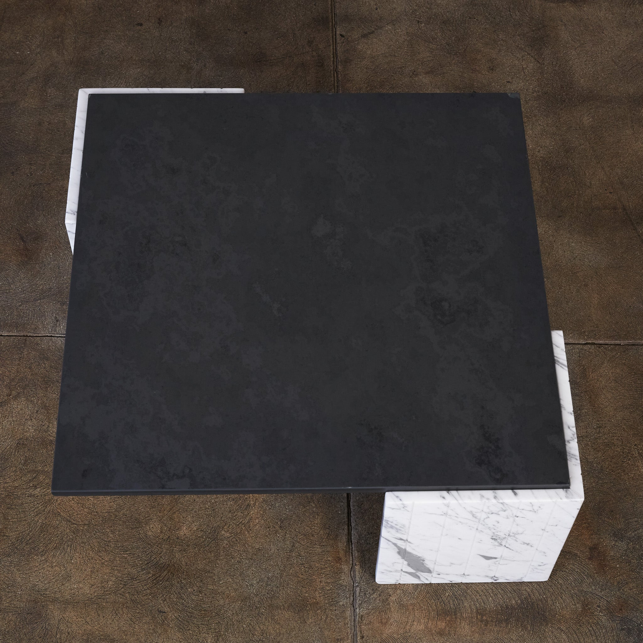 Italian Marble & Slate Coffee Table