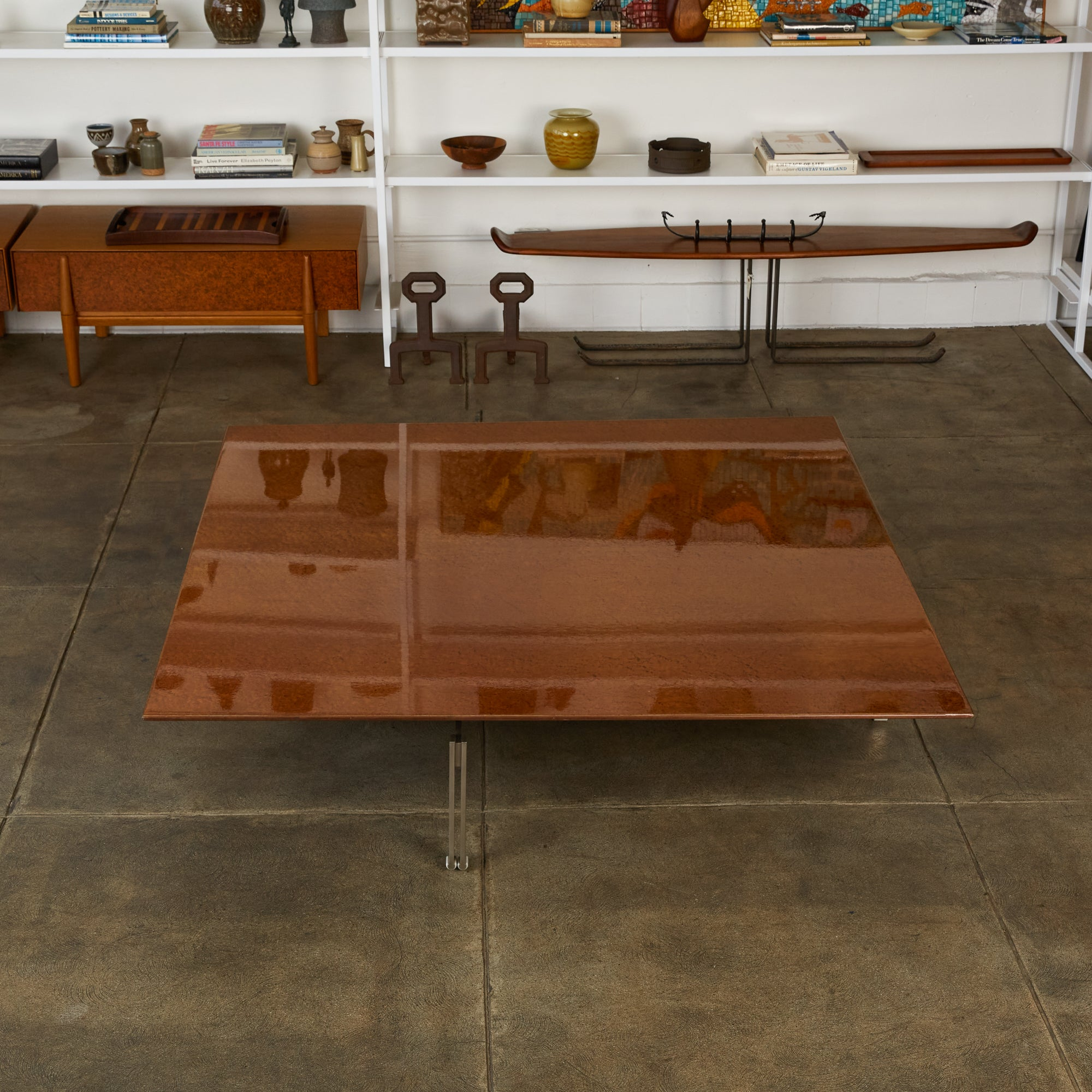 """Onda"" Coffee Table by Giovanni Offredi"
