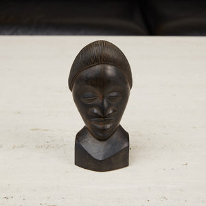 Tribal Wooden Bust