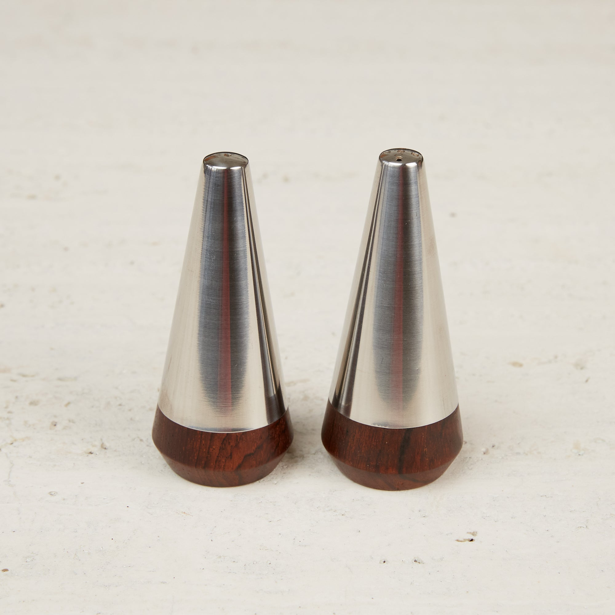 A&B Lundtofte Rosewood Salt & Pepper Shakers