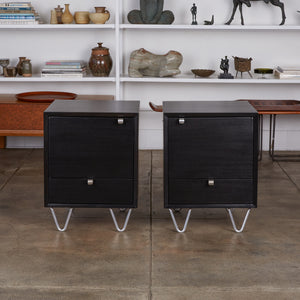 Pair of Nightstands by George Nelson for Herman Miller