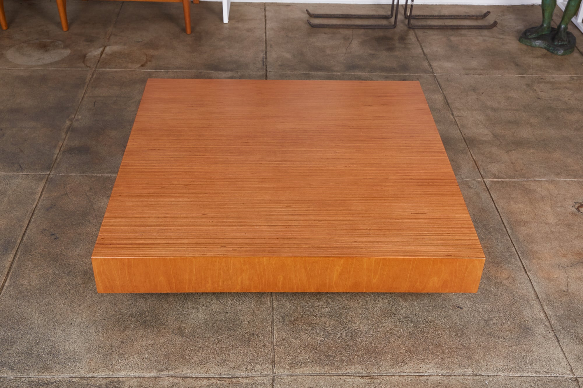 Plywood Platform Coffee Table