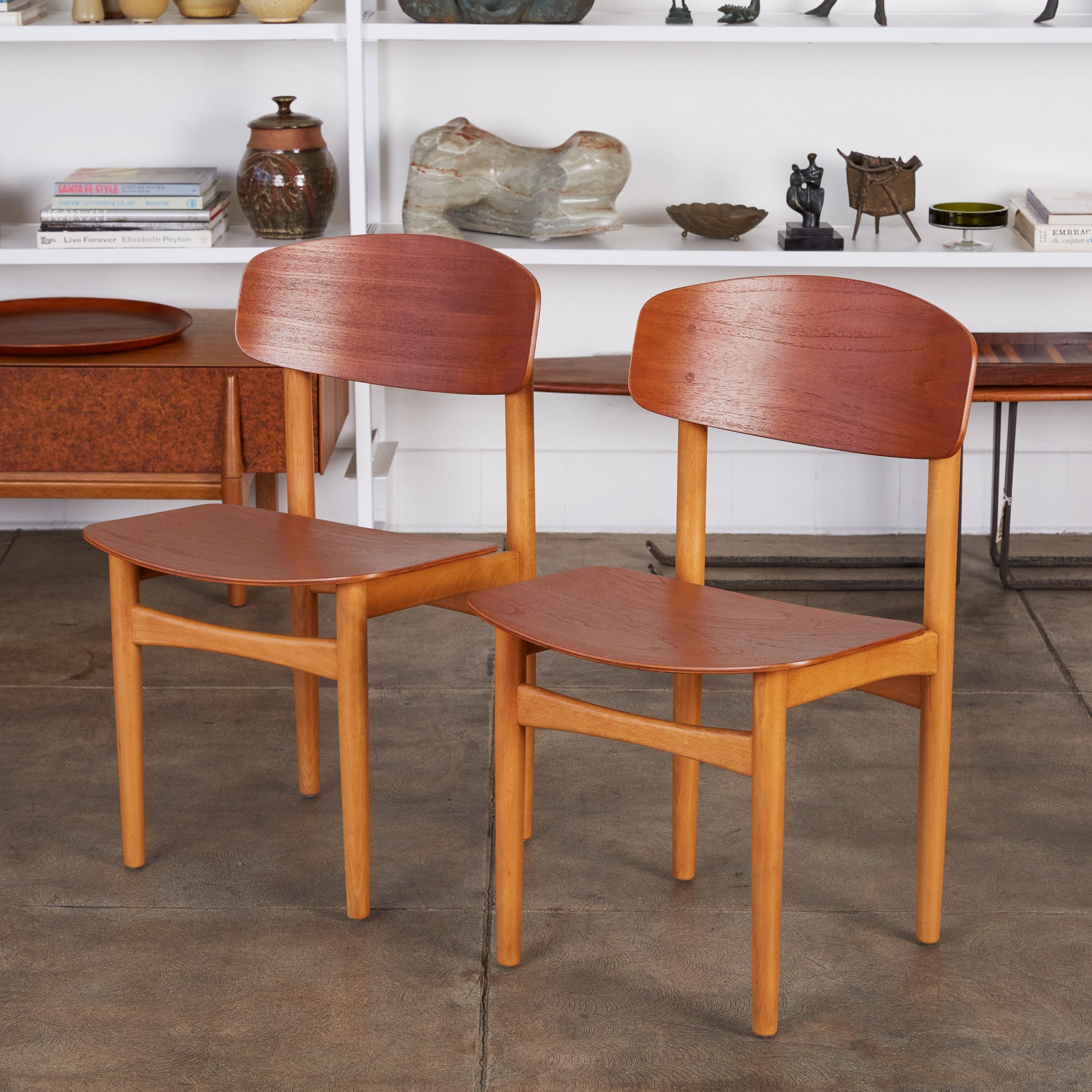 Pair of Børge Mogensen Side Chairs