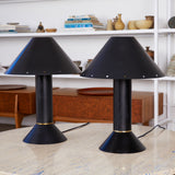 Pair of Ron Rezek Table Lamps
