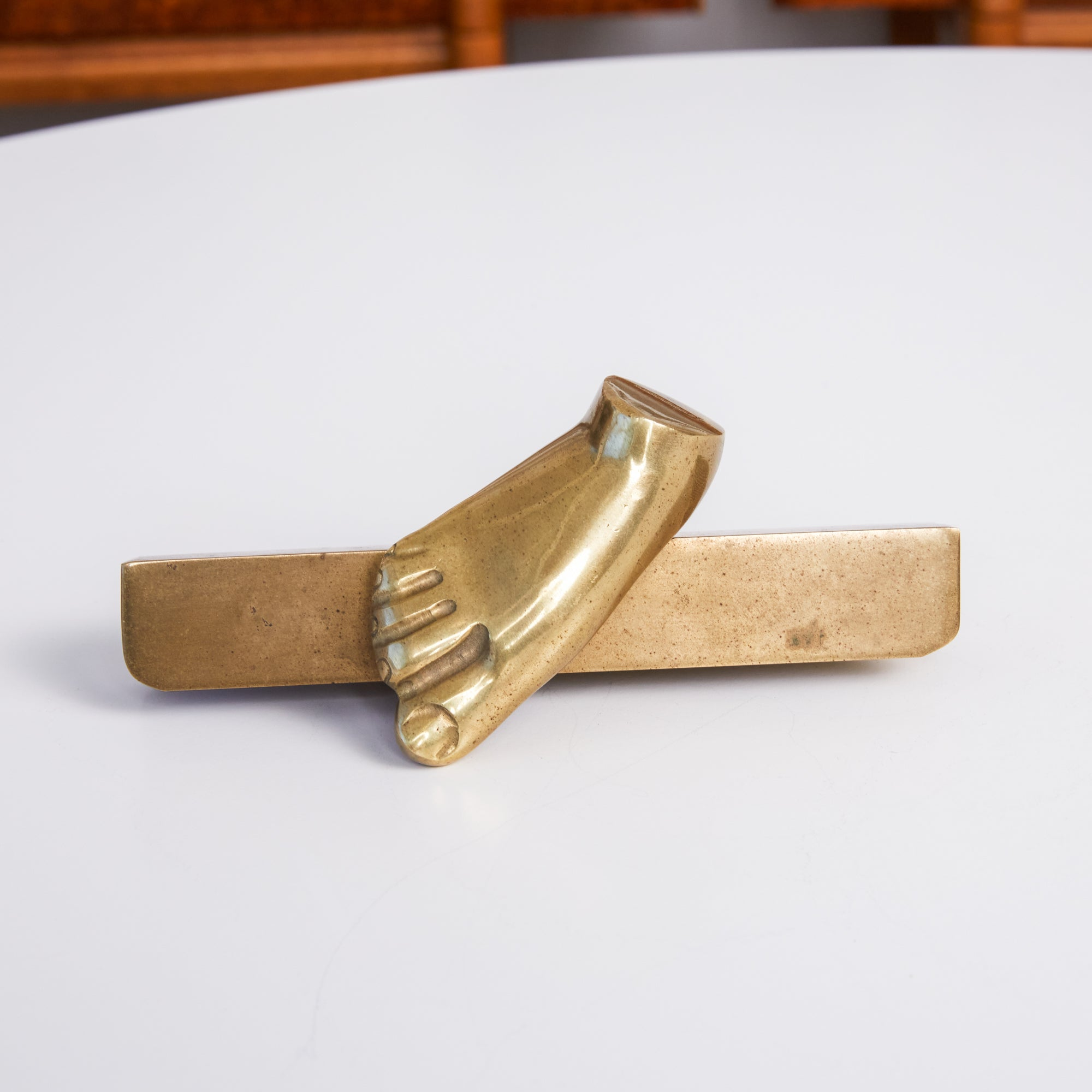 Cast Bronze Foot by Pietrina Checcacci