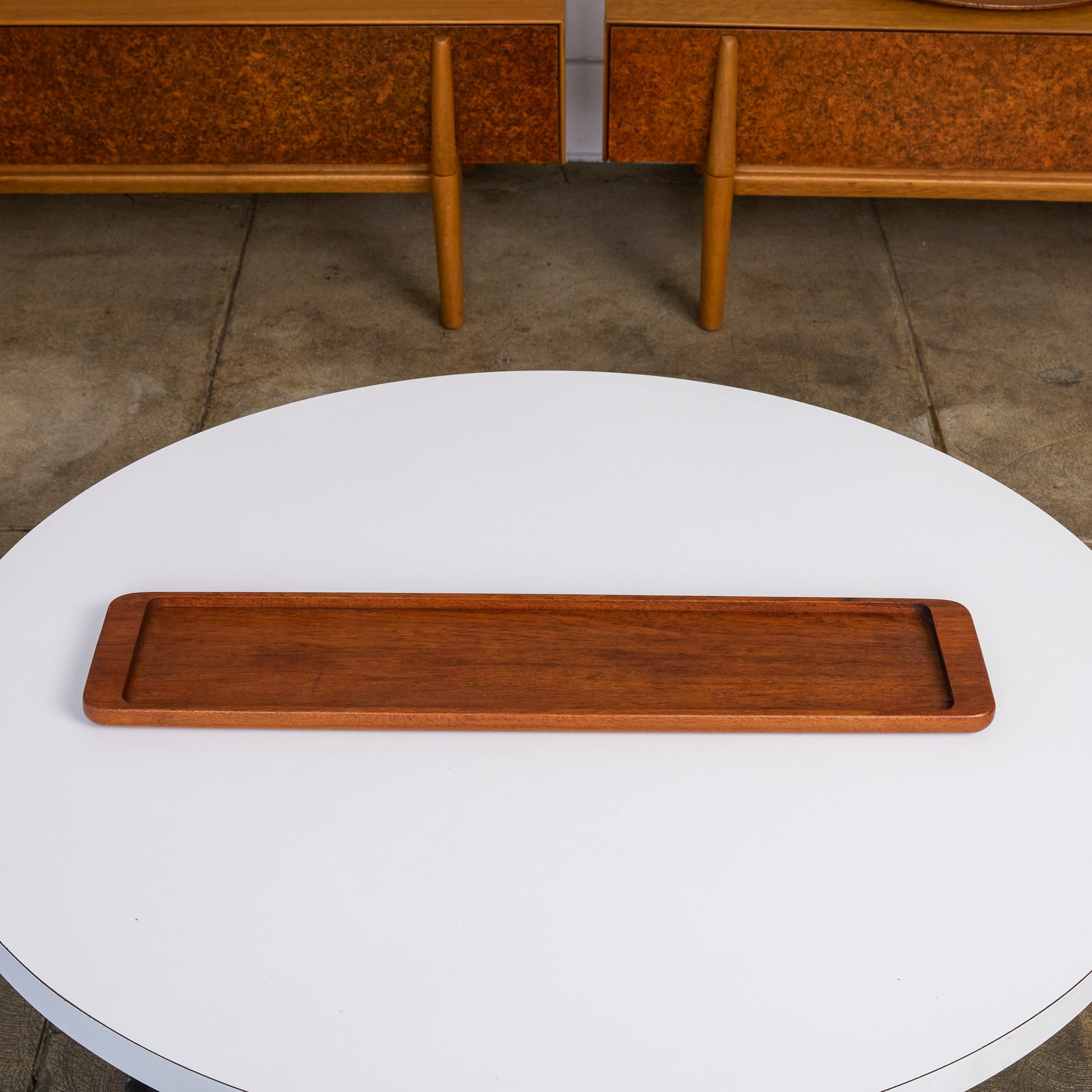 Rectangular Teak Serving Tray by ESA Denmark