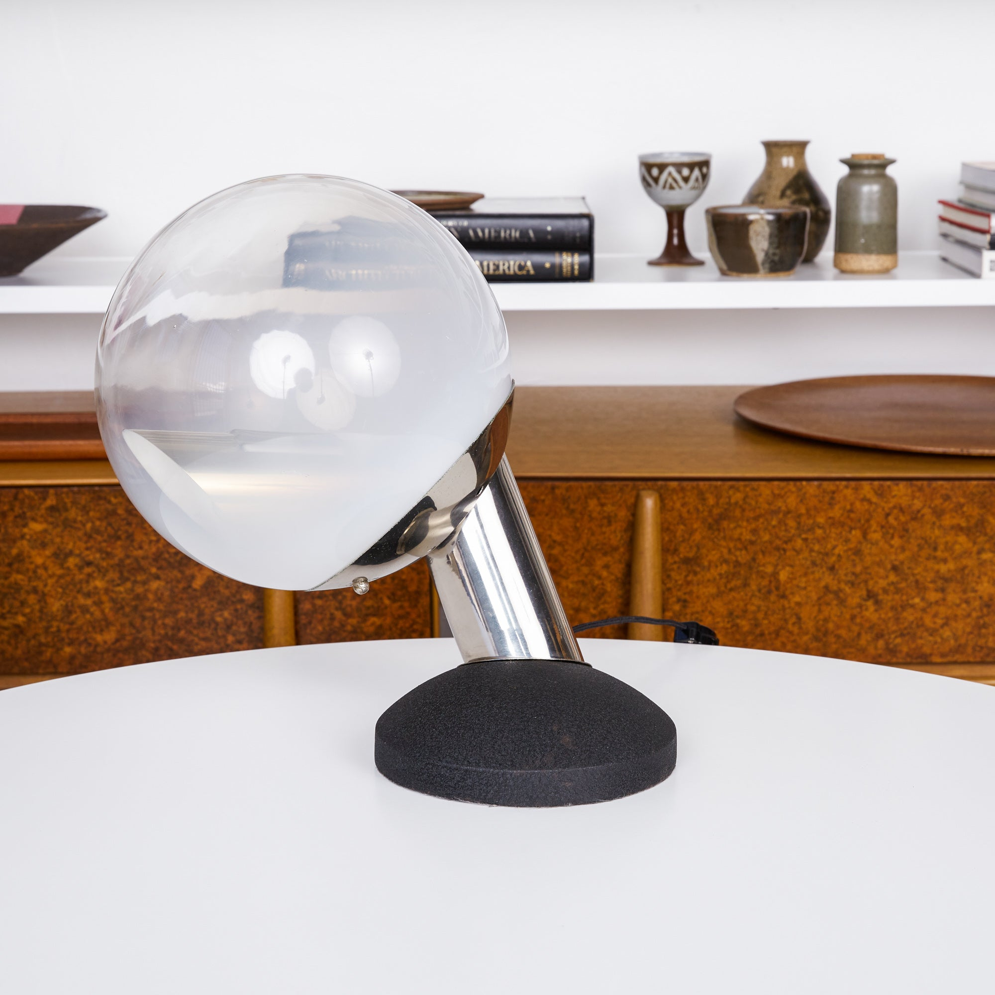 Kosta Glass Globe Table Lamp