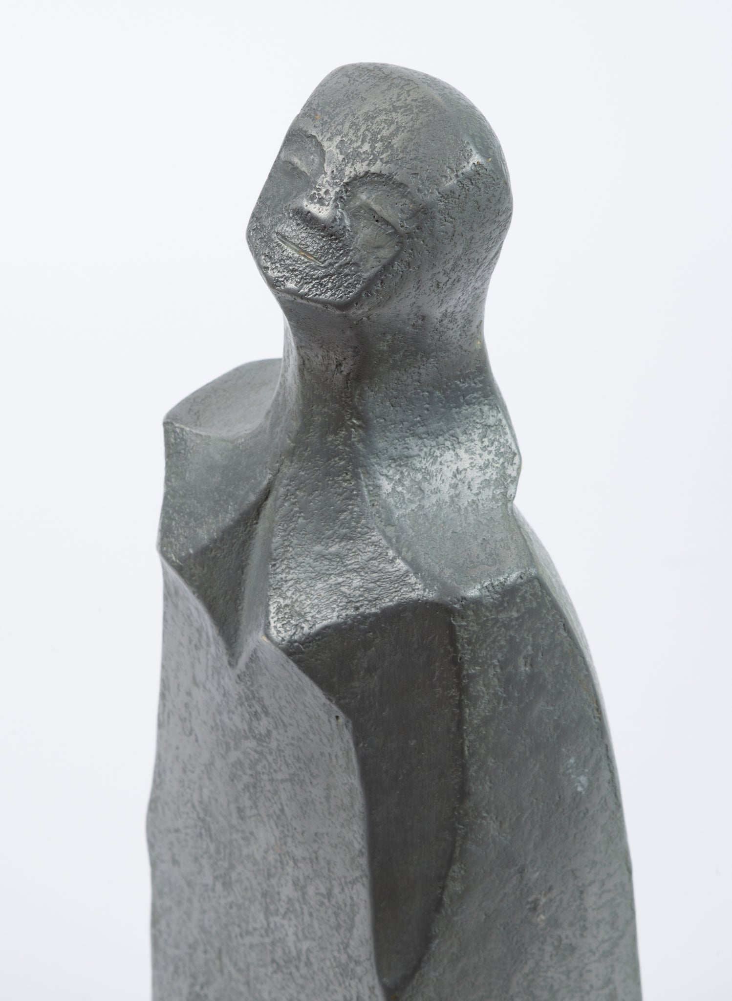 Sculpture of Tall Woman by Alexa Acuña