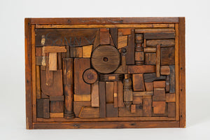 "Francis Schanz ""Sonny"" Woodblock Assemblage"
