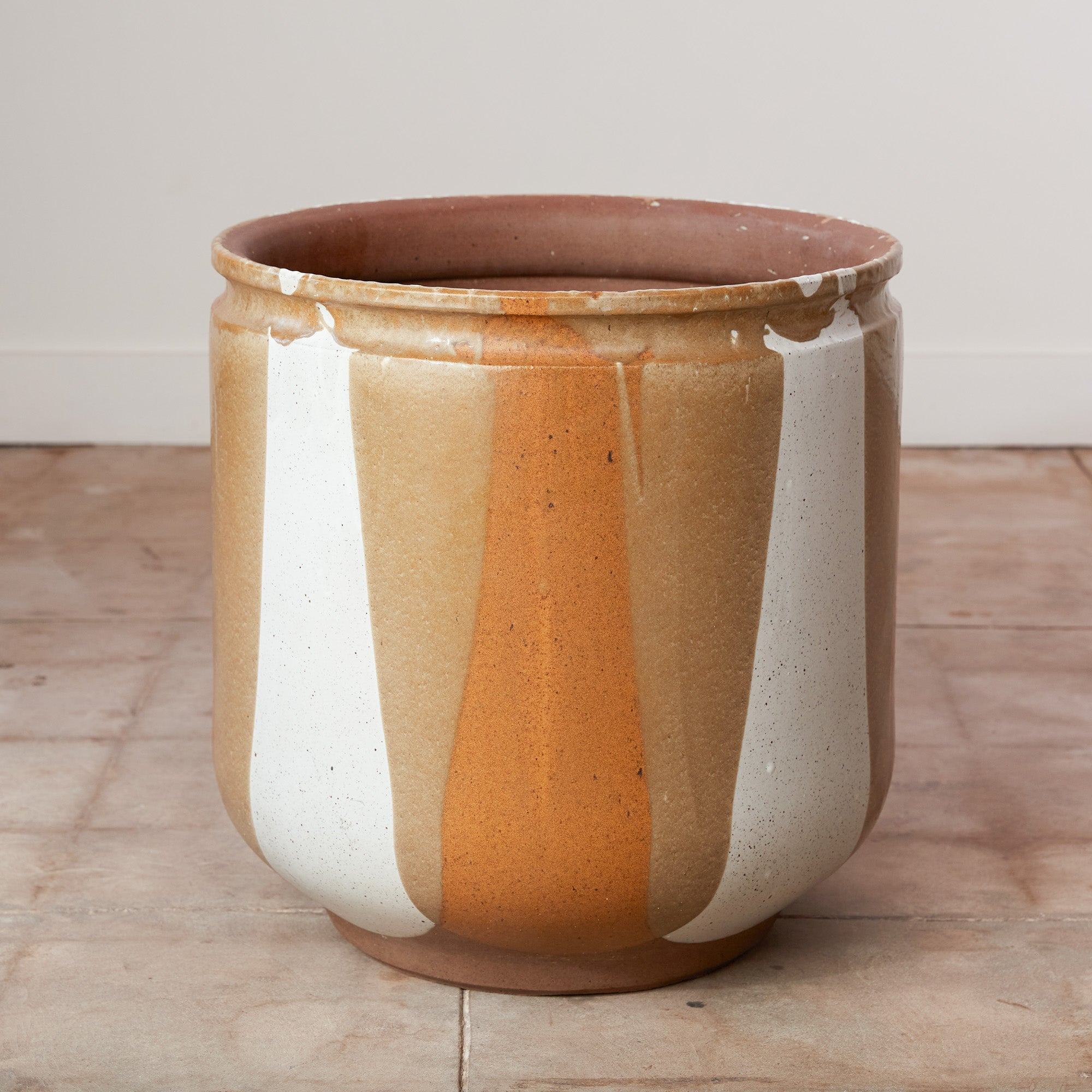 David Cressey Flame-Glazed Planter for Architectural Pottery