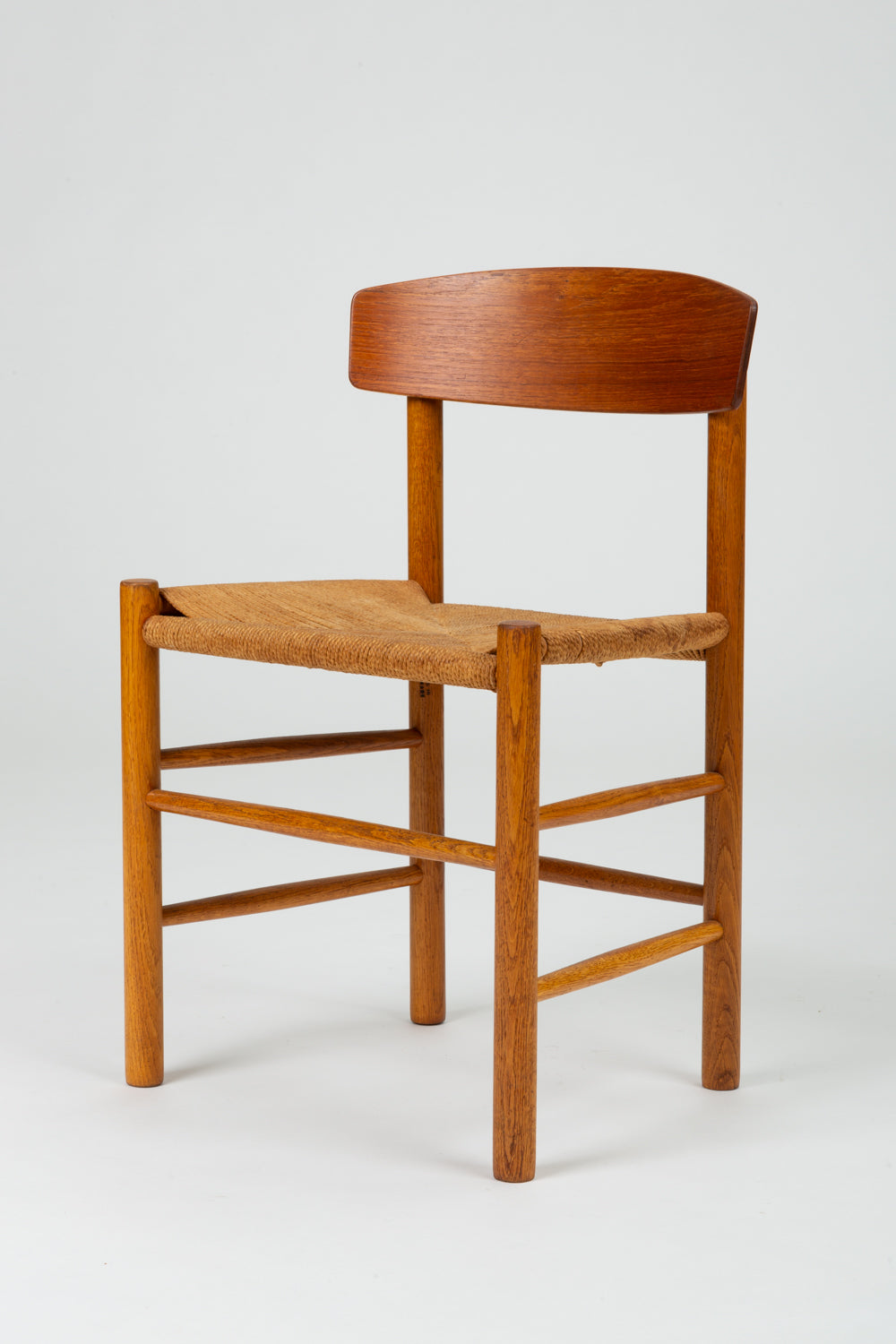 Single Børge Mogensen J39 Dining or Accent Chair