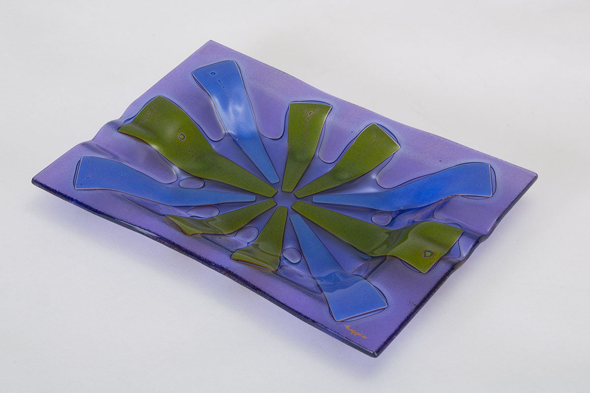 Glass Ashtray by Higgins