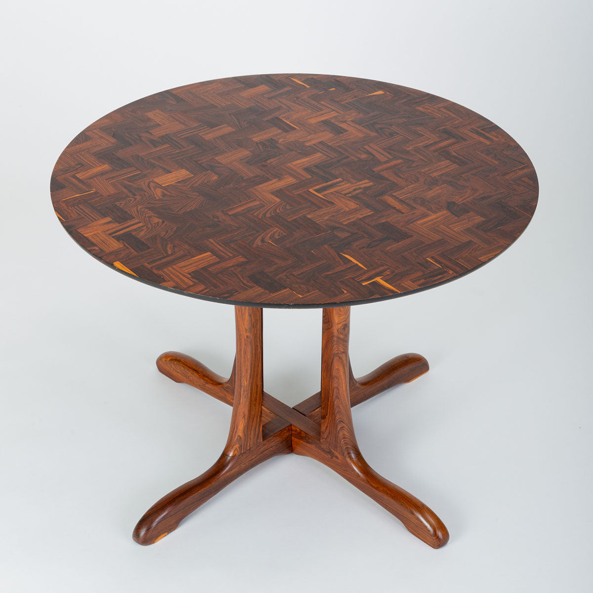 "Don Shoemaker ""Mesa Redonda"" Round Dining Table for Señal"