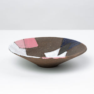 Decorative Glazed Stoneware Bowl by Bitossi