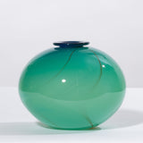 Hand-Blown Art Glass Bud Vase
