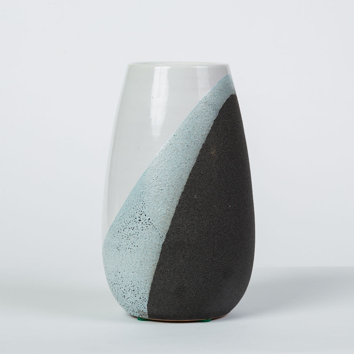 Ettore Sottsass for Bitossi Glazed Ceramic Vase