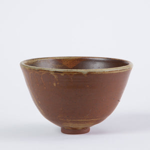 Small Studio Pottery Bowl with Foot